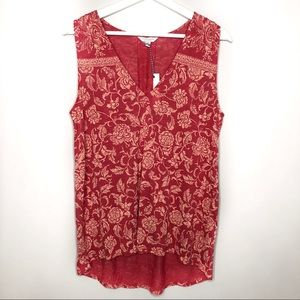 Lucky Brand Tops - LUCKY BRAND Coral Blouse